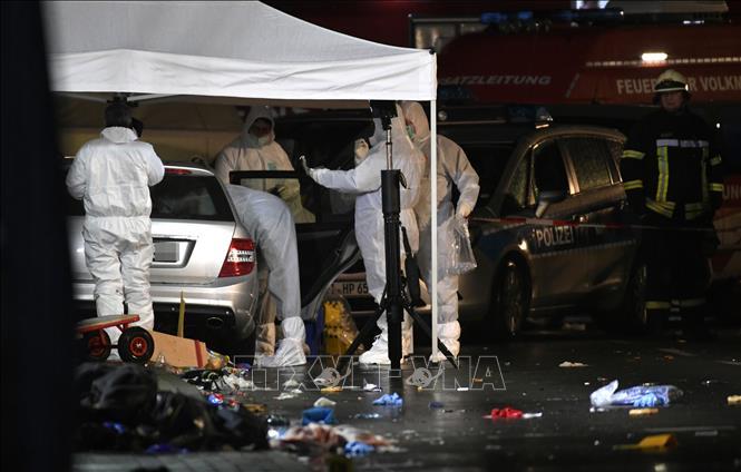 Vụ lao xe vào đám đông ở Đức: Cáo buộc tội 'giết người' đối với tài xế