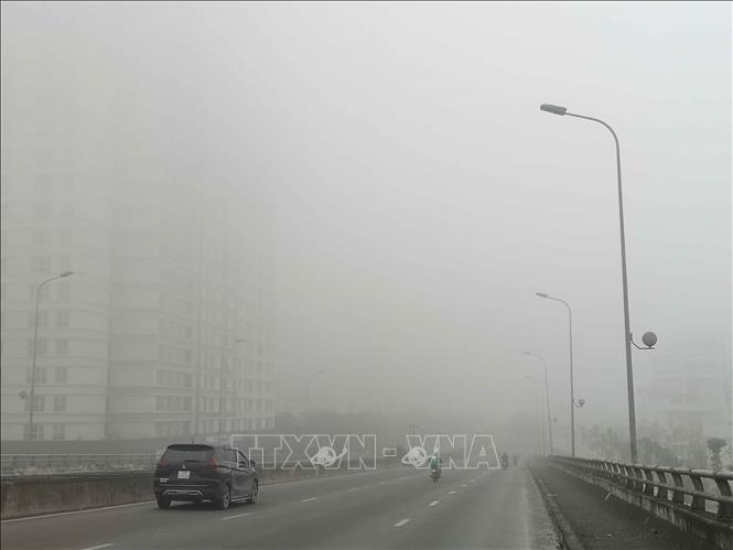 Hà Nội ô nhiễm không khí kéo dài cả ngày, Bắc Bộ trời rét về đêm và sáng