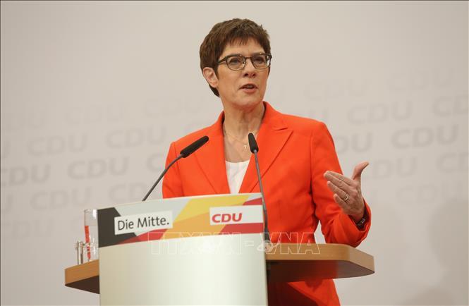 Đức: Đảng CDU tổ chức đại hội bầu ban lãnh đạo mới