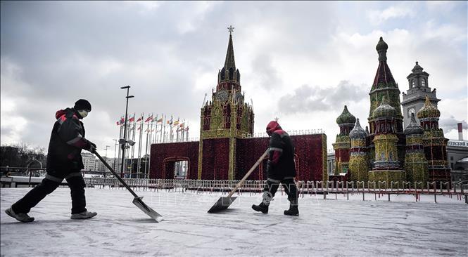 Nga khuyến cáo người dân hạn chế tới các tụ điểm công cộng