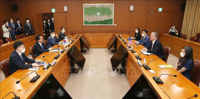 Mỹ và Nhật Bản thảo luận các nỗ lực nối lại đàm phán phi hạt nhân hóa