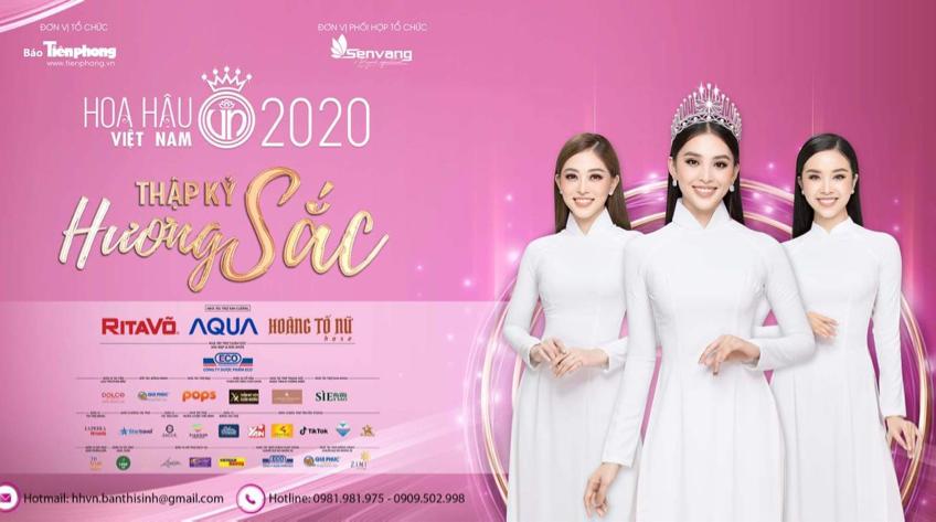 Xin lùi lịch tổ chức cuộc thi Hoa hậu Việt Nam 2020