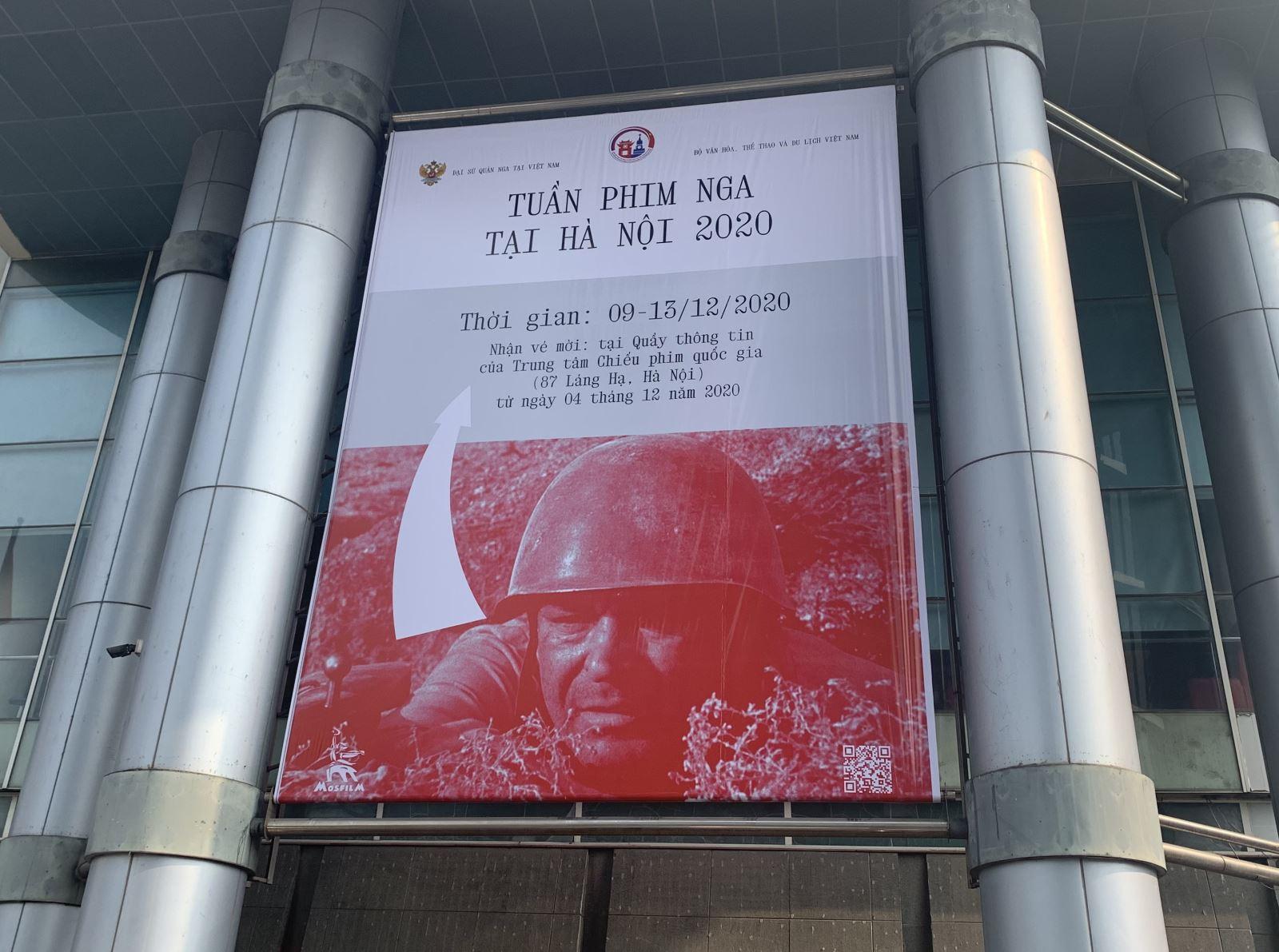 Khai mạc tuần chiếu phim Nga tại Hà Nội 2020
