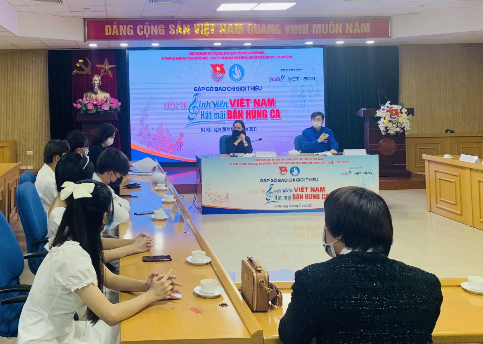 Khởi động cuộc thi 'Sinh viên Việt Nam - hát mãi bản hùng ca'