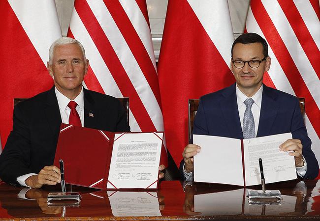 Mỹ và Ba Lan 'bắt tay' phát triển mạng 5G