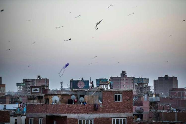 Ai Cập cấm thả diều vì lý do an ninh