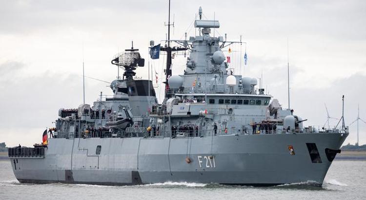 Trung Quốc từ chối cho chiến hạm Đức cập cảng